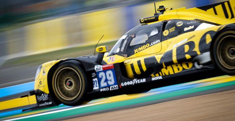 Nederlands succes in Le Mans: Frijns pakt de winst in LMP2 in laatste ronde