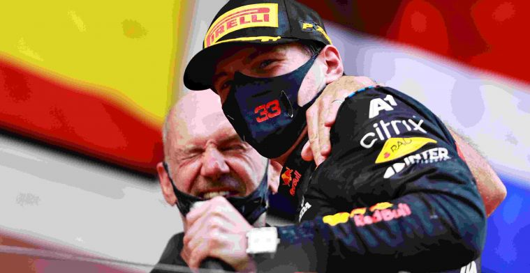 RB16B designer about Verstappen: 'Hasn't made any mistakes this year'