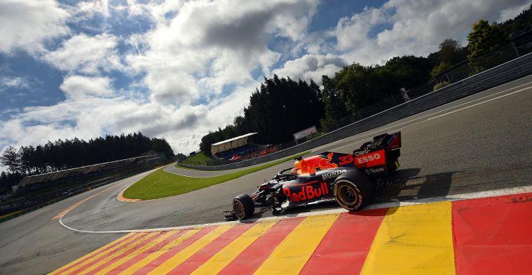 LIVE: De derde vrije training voor de Grand Prix van België
