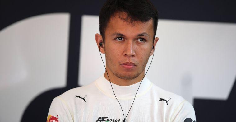 'Albon bovenaan het lijstje van twee F1-teams, plan B is de IndyCar'
