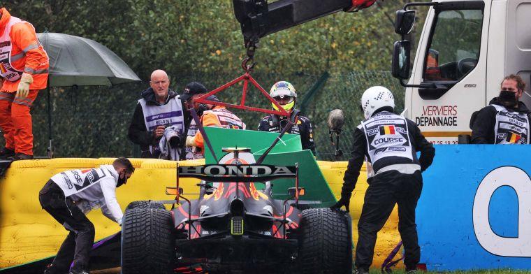 Red Bull verricht wonder in Spa: Perez mag starten na crash in opwarmronde