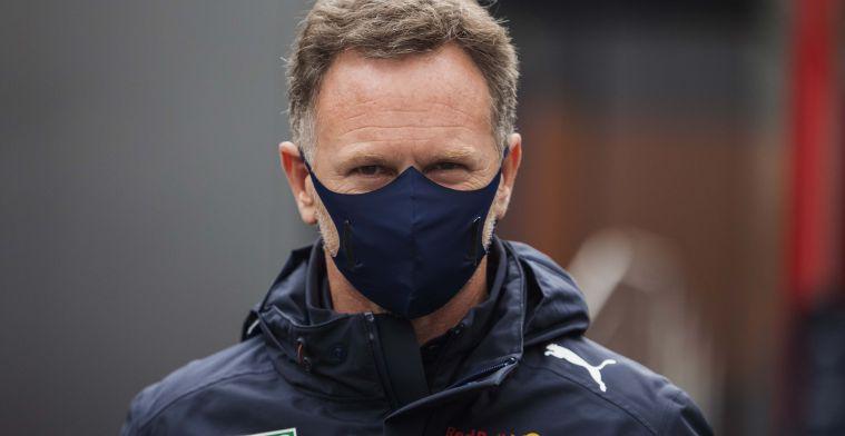 Horner hoopt op nieuw wonder van Red Bull-team: 'Proberen Perez terug te sturen'