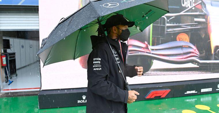 Hamilton heeft vertrouwen in racetempo: 'Het zal hoger liggen dan gisteren'