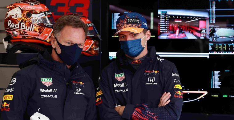 Horner looft monteurs Verstappen en Perez: Erg mooi om teamwork te zien