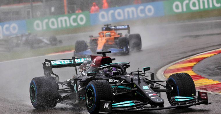 Rumor: Red Bull has filed a complaint with the FIA over Mercedes' new trick