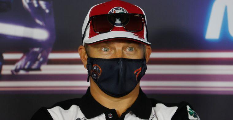 BREAKING: Raikkonen kondigt vertrek uit de Formule 1 aan
