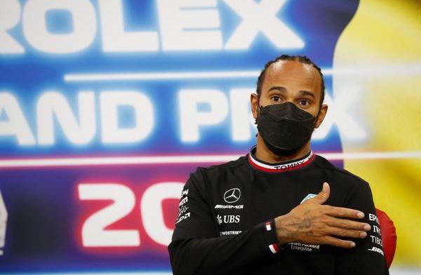 Hamilton vreest niet voor komst Russell: 'Geen zorgen'