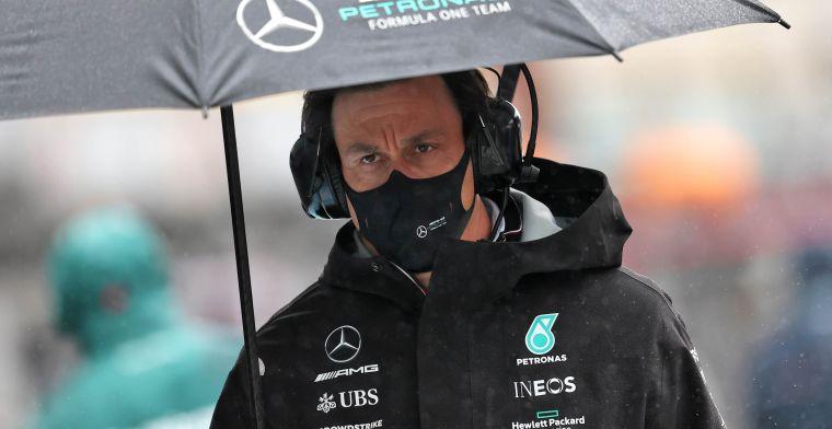 Mercedes heeft coureurskeuze al gemaakt: 'Hamilton is niet blij met Wolff'