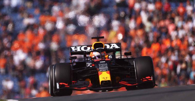 Verstappen tweede in eerste vrije training, Hamilton de snelste