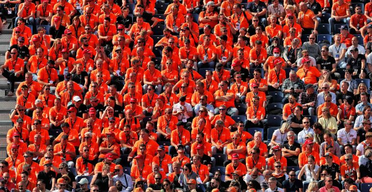 Zandvoort turns orange: Thousands of fans cheer for Verstappen
