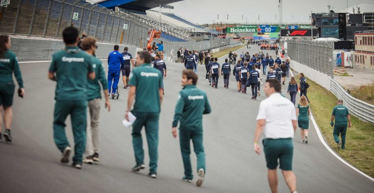Huge hype ahead of first free practice at Circuit Zandvoort