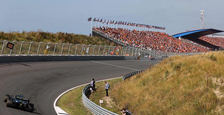 Volgens Vettel zou de F1 meer kombochten zoals in Zandvoort moeten hebben
