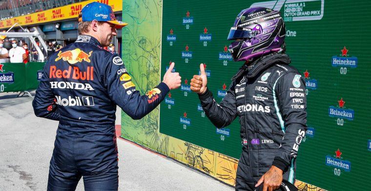 Verstappen en Hamilton zullen risico nemen: 'Dat weten ze beiden'