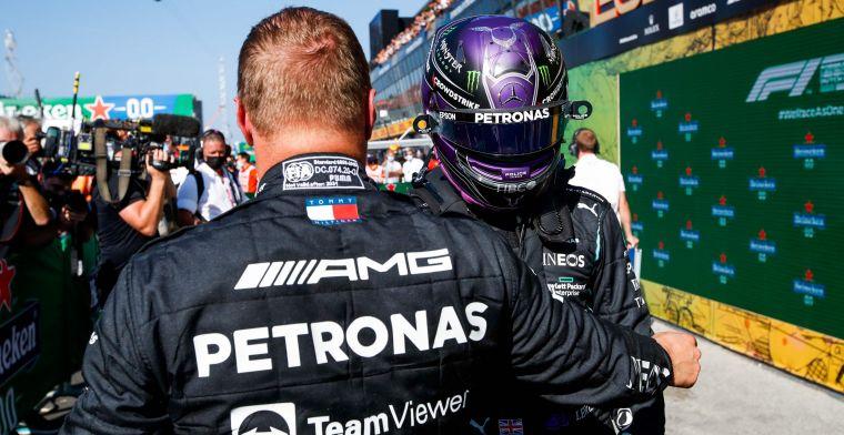Mercedes van plan om Verstappen uit te spelen met Bottas: 'Dat proberen we'