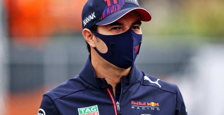 Gaat Perez expres een gridstraf incasseren? 'Red Bull verandert de motor'