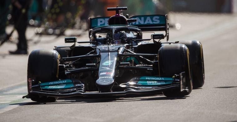 Hamilton hoopte op verrassing: Geen van die drie was ideaal vandaag