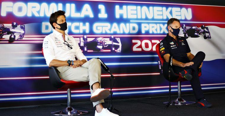 Red Bull was bereid om overwinning weg te geven: 'Onze focus lag op Lewis'
