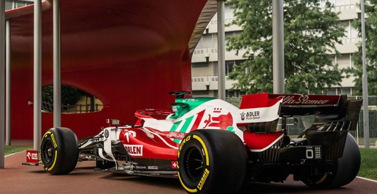 Alfa Romeo with stunning new livery to Monza