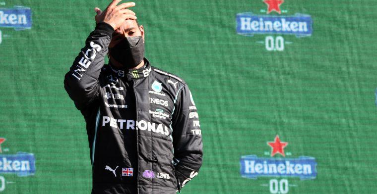 Hamilton blij met Russell: 'Goed om vers bloed in het team te hebben'
