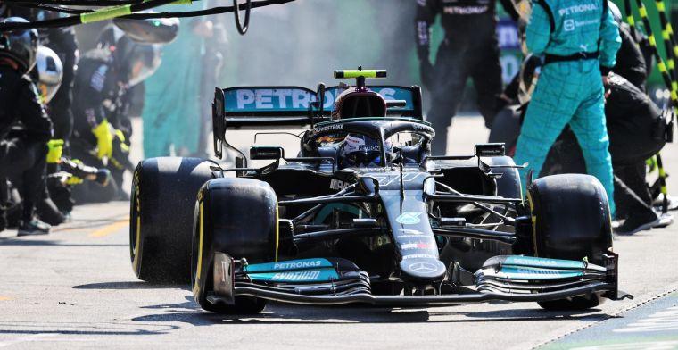 Bottas over titelstrijd Mercedes en Red Bull: Hamilton heeft prioriteit