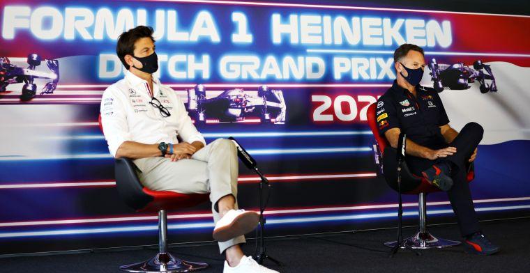 Horner waarschuwt: 'Verwacht dat Mercedes in het voordeel gaat zijn'