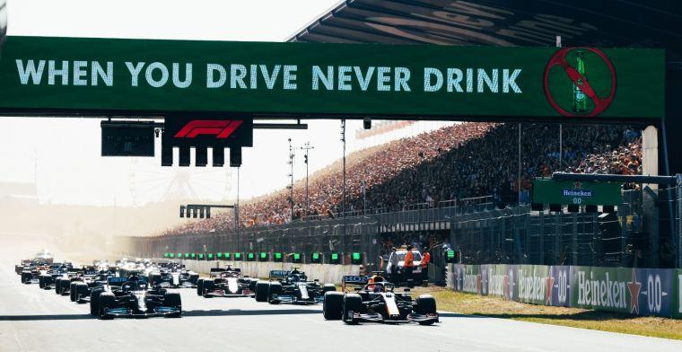 Formule 1 denkt aan verandering: 'Het evenement wordt nog spannender'