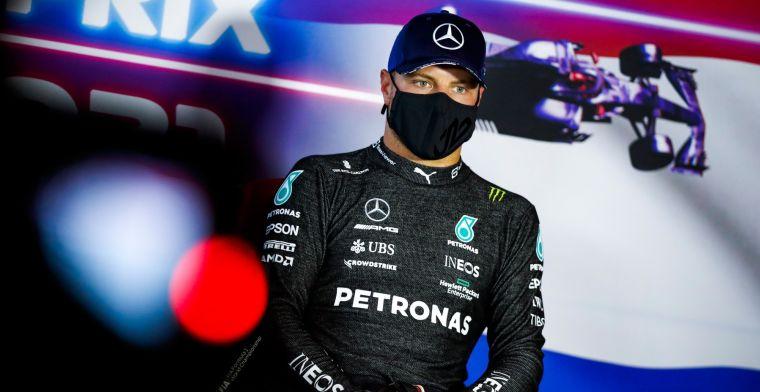 Bottas over vertrek bij Mercedes: 'Het was dezelfde situatie'