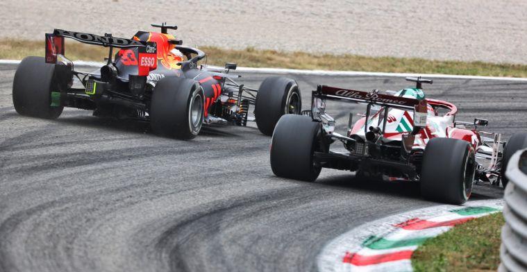 Hamilton snelste, Verstappen tweede met lagere motorstand in VT1 Monza