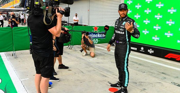 Hamilton wil Verstappen verslaan: 'Er zijn dit jaar veel punten verloren gegaan'