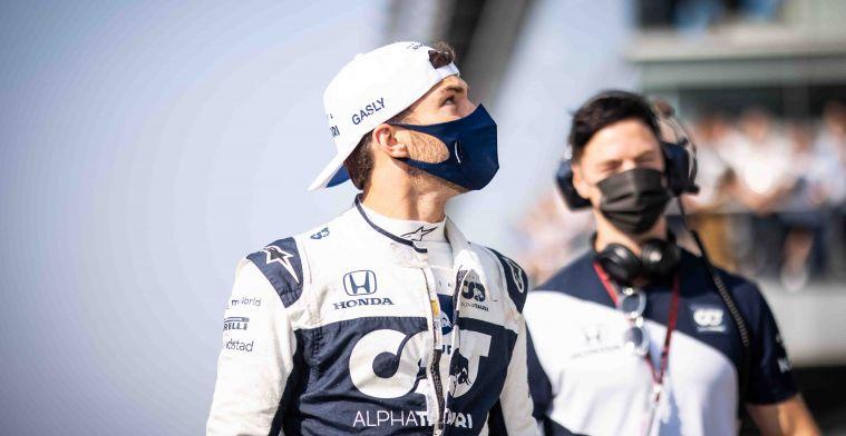 Gasly was goed weg: 'Toen werd ik verrast in de eerste bocht door Ricciardo'