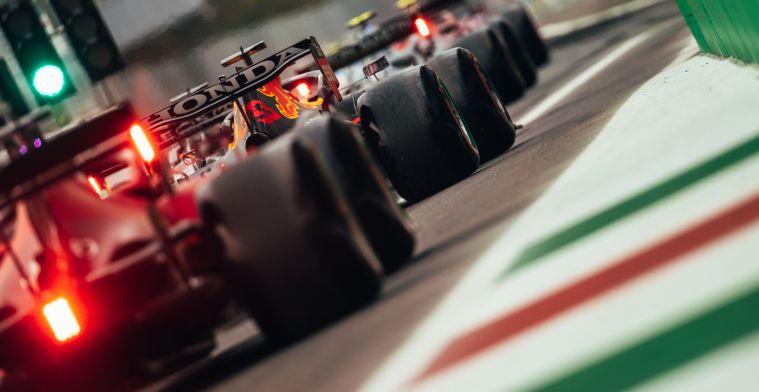 Provisional grid F1 Italian GP: Verstappen on pole after sprint race!
