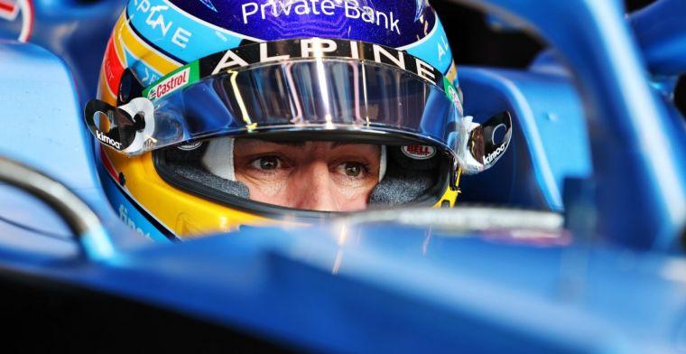 Alonso begrijpt zorgen om 'saaie' sprintrace niet: 'Voetbal is ook saai'