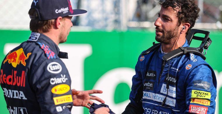 Verstappen kijkt naar achter in Monza: 'Deze baan ligt ons normaal niet'