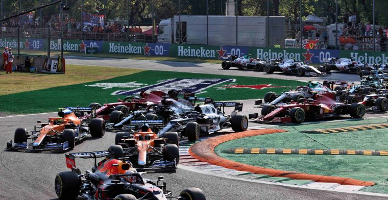 Definitieve startgrid GP Italië: Rechtstreeks duel tussen Hamilton en Verstappen?