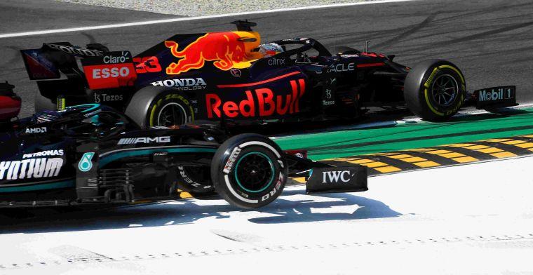 Samenvatting   Ricciardo de lachende derde na crash Verstappen en Hamilton