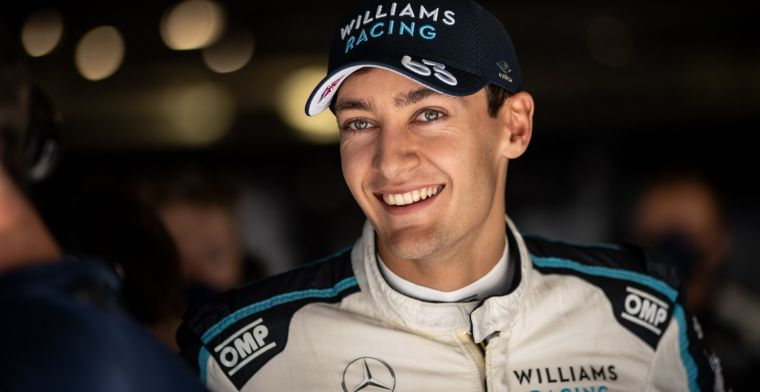 Russell over rivaliteit Hamilton: 'Teamleiding zit niet erop te wachten'
