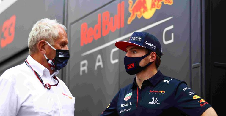 Marko does not blame Verstappen: 'We put him in this situation'