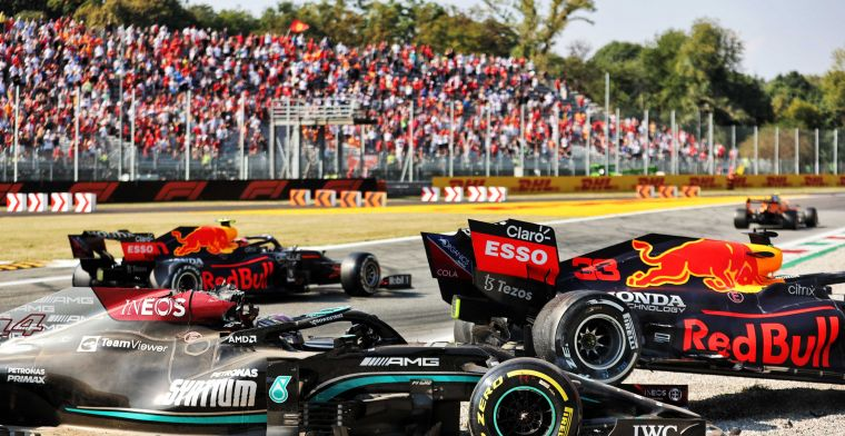 BREAKING | Stewards hand out penalty to Verstappen after crash with Hamilton