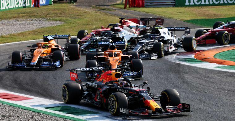 LIVE | Verstappen vertrekt vanaf pole position aan uitdagende race