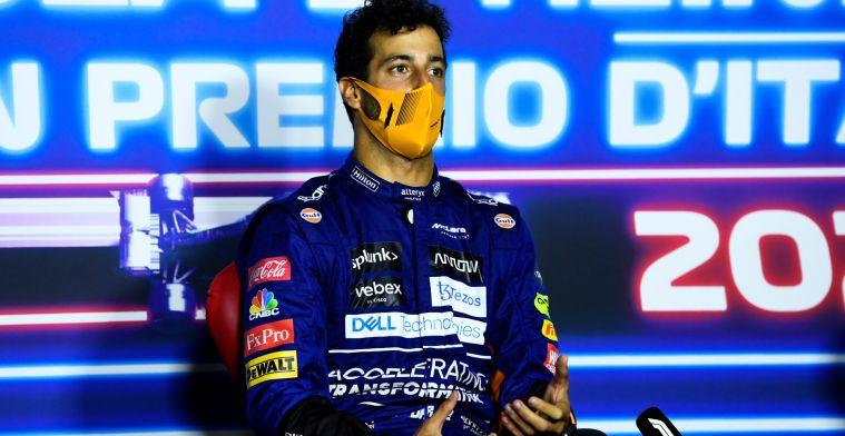 Ricciardo analyseert: 'Cruciaal toen ik Verstappen eenmaal te pakken had'