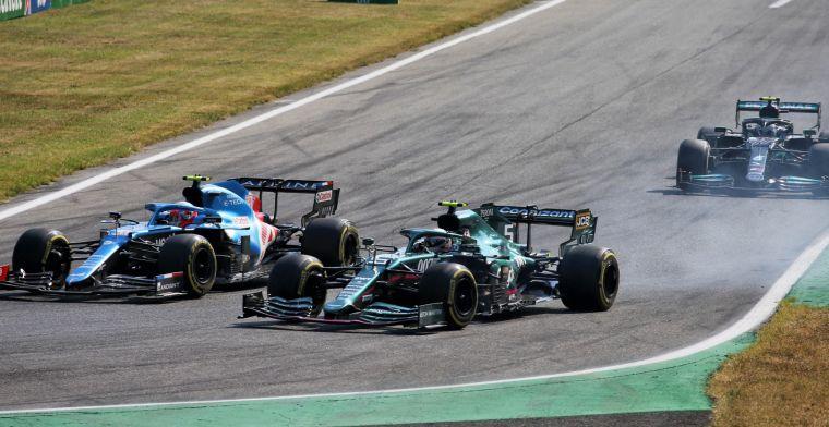 Vettel neemt het op voor Schumacher: 'Er zat geen opzet achter'