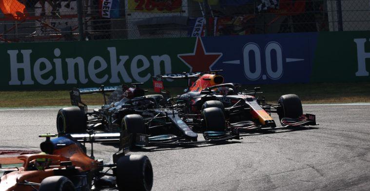 International press critical of Verstappen: 'The turn was Hamilton's'.