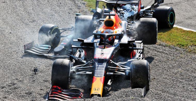 Strijd tussen Verstappen en Hamilton baart zorgen: 'Zeer verontrustend'