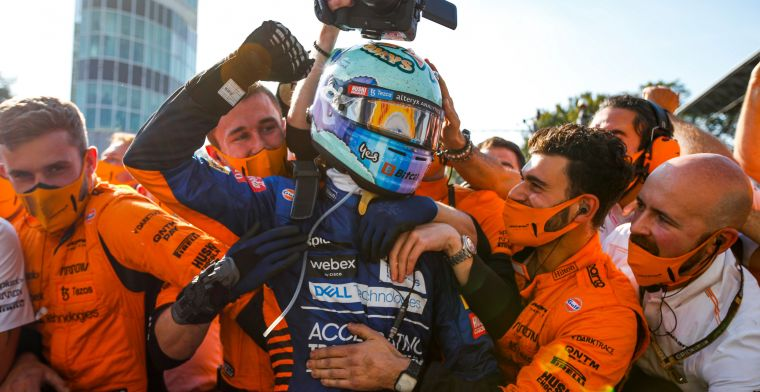 'I respect that Mercedes and Red Bull are fighting for the win every weekend'