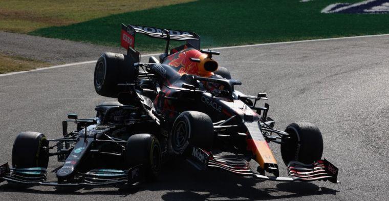 F1 geeft nieuwe camerabeelden vrij: Hamilton had echt heel veel geluk