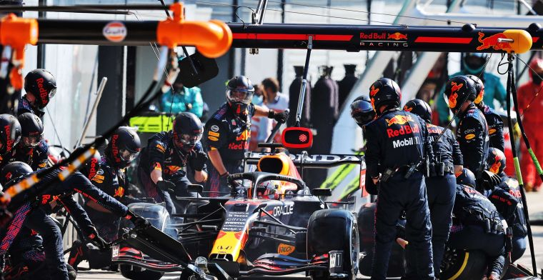 Human error' got Verstappen into trouble: 'That's why they got together'.