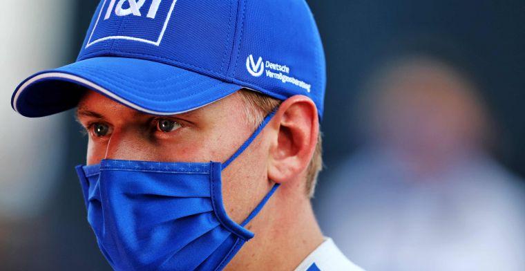 Schumacher krijgt advies in strijd met Mazepin: 'Verspil geen energie'