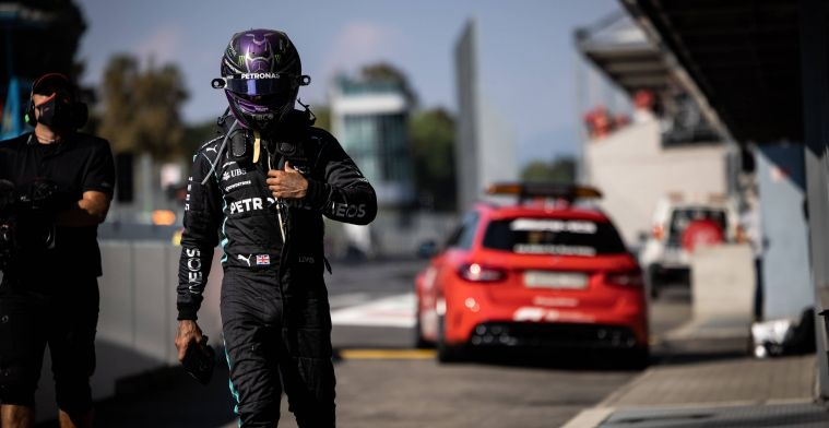 Mercedes updates: We are hoping we'll see Hamilton in Russia fighting fit