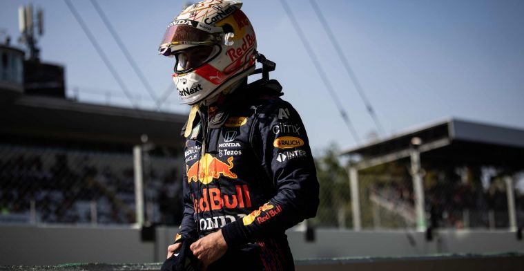 Verstappen doesn't give up: 'That's the difference with Hamilton'