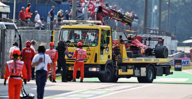 FIA investigates Sainz's flexible belt after Monza crash